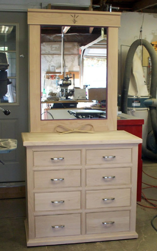 Bedroom Dresser made with Sommerfeld Tools for Wood.
